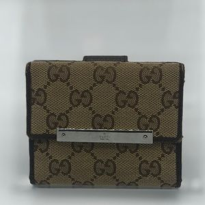 Gucci GG Web Monogram Wallet